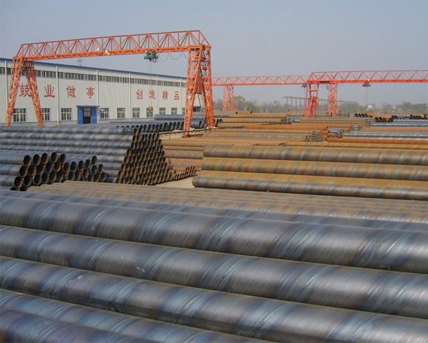 S355jr SSAW Large Diameter Spiral Steel Pipe