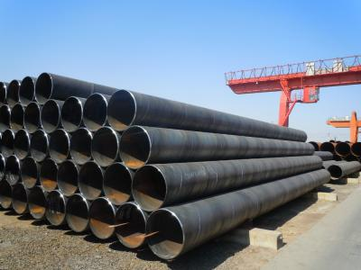 API 5L Gr.b ASTM A53 SSAW Steel Pipe