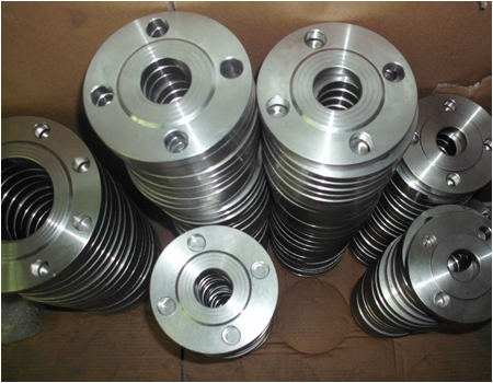 GOST Standard Pn1.0 Stainless Steel Plate Flange