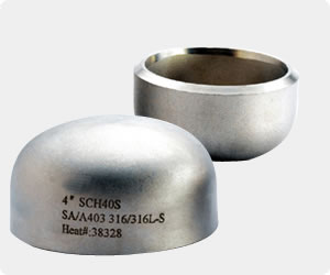 Sch40 Carbon Steel Pipe Cap